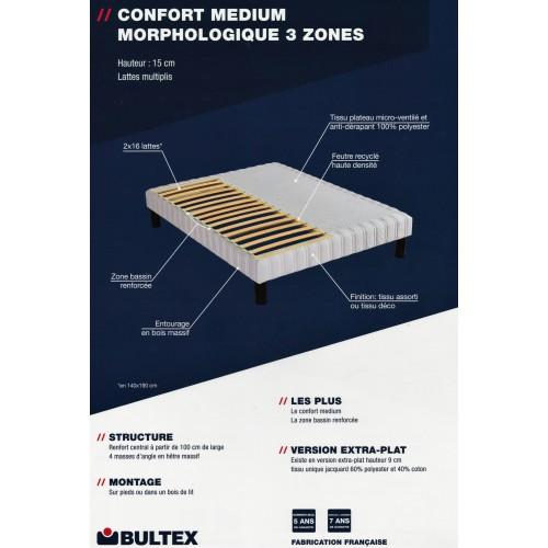 sommier bultex medium morpho 160 x 200 arrivages soustons. Black Bedroom Furniture Sets. Home Design Ideas